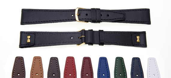 watch straps from your online watch strap retailer mens 16mm open end leather straps